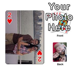 Newyork Trip By Jitesh Kumar   Playing Cards 54 Designs   3uqoer5z6dgl   Www Artscow Com Front - Heart2