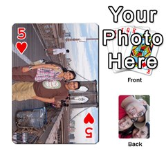 Newyork Trip By Jitesh Kumar   Playing Cards 54 Designs   3uqoer5z6dgl   Www Artscow Com Front - Heart5