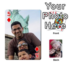 Newyork Trip By Jitesh Kumar   Playing Cards 54 Designs   3uqoer5z6dgl   Www Artscow Com Front - Diamond5