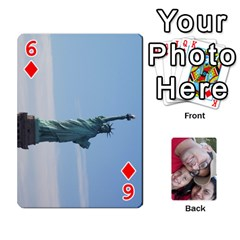 Newyork Trip By Jitesh Kumar   Playing Cards 54 Designs   3uqoer5z6dgl   Www Artscow Com Front - Diamond6