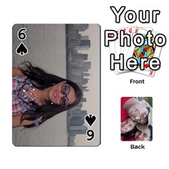 Newyork Trip By Jitesh Kumar   Playing Cards 54 Designs   3uqoer5z6dgl   Www Artscow Com Front - Spade6