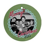 Photo Ornament 10 - Ornament (Round)