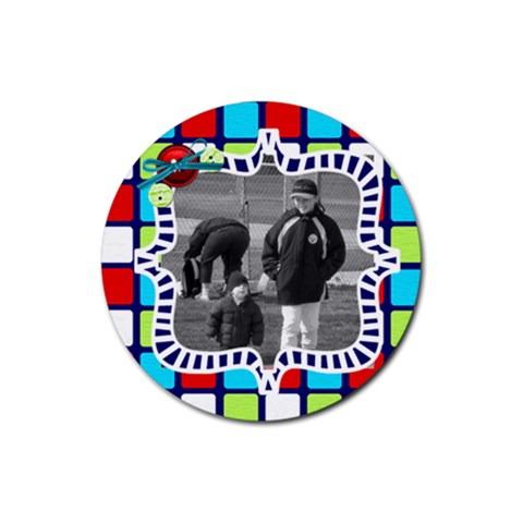 Cute Photo Coaster 4 By Martha Meier   Rubber Round Coaster (4 Pack)   1jxw3dyb8ni7   Www Artscow Com Front