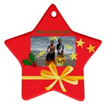 Ty and Cal ornament - Ornament (Star)