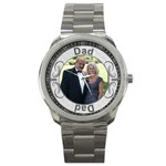 Dad Sport Metal Watch