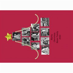 Picture Tree Card With Bling By Martha Meier   5  X 7  Photo Cards   Dbvno77l9zh2   Www Artscow Com 7 x5  Photo Card - 4