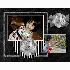 2013 Calendar 12 Mos Black & White By Angel   Wall Calendar 11  X 8 5  (12 Months)   5q5nh0iw012l   Www Artscow Com Month