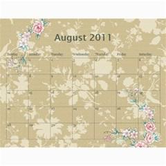 Konda Calendar By Sarithagampa   Wall Calendar 11  X 8 5  (12 Months)   9t1r4c6v558f   Www Artscow Com Aug 2011