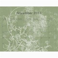 Konda Calendar By Sarithagampa   Wall Calendar 11  X 8 5  (12 Months)   9t1r4c6v558f   Www Artscow Com Nov 2011