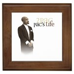 2Pac-Pacs Life Framed Tile