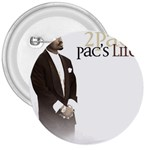 2Pac-Pacs Life 3  Button
