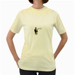 2Pac-Pacs Life Women s Yellow T-Shirt