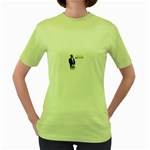 2Pac-Pacs Life Women s Green T-Shirt