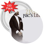 2Pac-Pacs Life 3  Button (100 pack)
