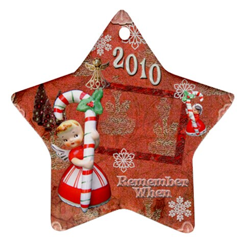Angel Blonde Remember When 2010 Ornament 31 By Ellan   Ornament (star)   Xlgxzh8stc10   Www Artscow Com Front