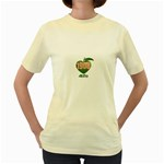 AKA 1908 4 life3 Women s Yellow T-Shirt