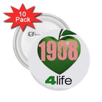 AKA 1908 4 life3 2.25  Button (10 pack)