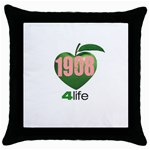 AKA 1908 4 life3 Throw Pillow Case (Black)