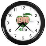 AKA 1908 4 life3 Wall Clock (Black)