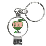 AKA 1908 4 life3 Nail Clippers Key Chain