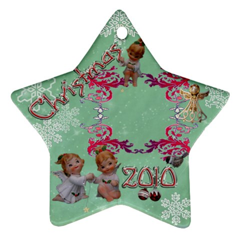 Angels 2010 Ornament 39 By Ellan   Ornament (star)   Cvrrq5vsevre   Www Artscow Com Front