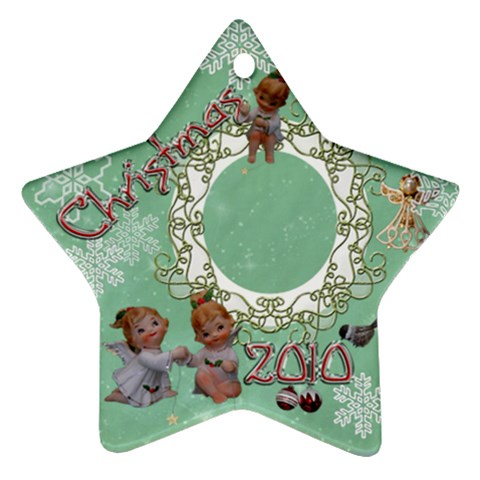 Angels Wl Stars 2010 Ornament 41 By Ellan   Ornament (star)   Yl7mry6bg7cd   Www Artscow Com Front