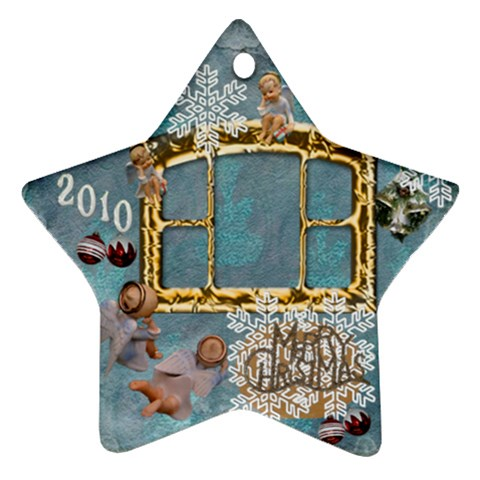 Angels 2010 Ornament 43 By Ellan   Ornament (star)   If7gy0aigkkl   Www Artscow Com Front