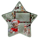 angels 2010 ornament 47 - Ornament (Star)