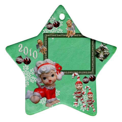 Angels 2010 Ornament 48 By Ellan   Ornament (star)   Byabmbby76qt   Www Artscow Com Front