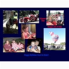 Calendar By Carol Ligon   Wall Calendar 11  X 8 5  (18 Months)   4qq3xp6gyqo9   Www Artscow Com Month