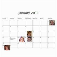 Calendar By Carol Ligon   Wall Calendar 11  X 8 5  (18 Months)   4qq3xp6gyqo9   Www Artscow Com Jan 2011