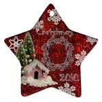 snow village 2010 ornament 58 - Ornament (Star)