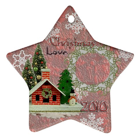 Snow Village 2010 Ornament 62 By Ellan   Ornament (star)   Yghlr0snyza6   Www Artscow Com Front