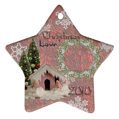 Snow Village 2010 Ornament 63 By Ellan   Ornament (star)   Dewdhtvvs74a   Www Artscow Com Front