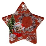 angel peace love joy 2010 ornament 67 - Ornament (Star)