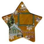 village peace love joy 2010 ornament 75 - Ornament (Star)