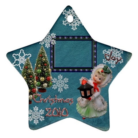 Lantern Girl 2010 Ornament 85 By Ellan   Ornament (star)   Xtdx7q78r24x   Www Artscow Com Front