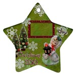 lantern girl 2010 ornament 86 - Ornament (Star)