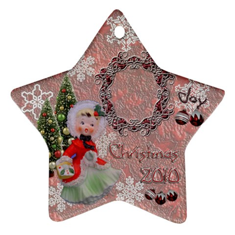 Angel 2010 Ornament 97 By Ellan   Ornament (star)   F4dn2zn6865y   Www Artscow Com Front