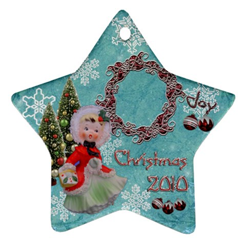 Basket Girl 2010 Ornament 101 By Ellan   Ornament (star)   62mh8pn61ege   Www Artscow Com Front