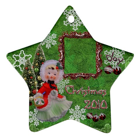 Basket Girl 2010 Ornament 103 By Ellan   Ornament (star)   Glqvt5mgrudy   Www Artscow Com Front