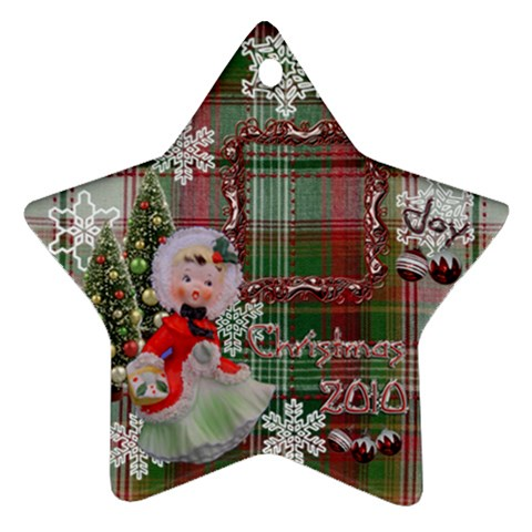 Basket Girl 2010 Ornament 103 By Ellan   Ornament (star)   Rtfyhjphcsgj   Www Artscow Com Front