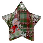 basket girl 2010 ornament 103 - Ornament (Star)
