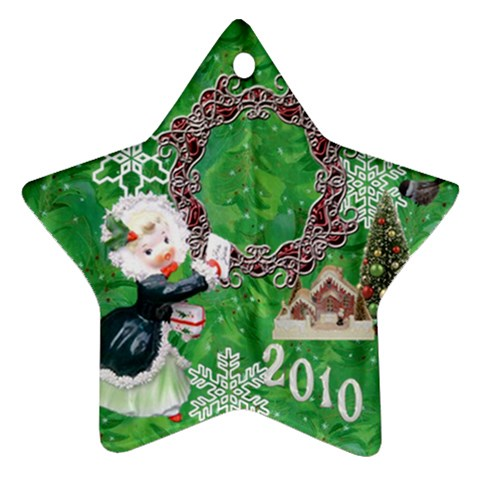Thank You Mail 2010 Ornament  121 By Ellan   Ornament (star)   1iv2d5a19w5d   Www Artscow Com Front