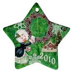 thank you mail 2010 ornament  121 - Ornament (Star)