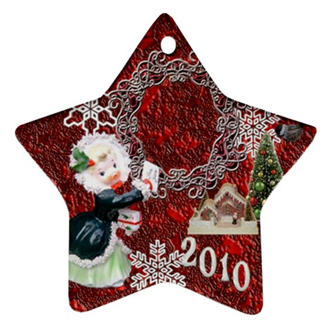 Thank You Mail 2010 Ornament  123 By Ellan   Ornament (star)   Y4fbfm3thqsq   Www Artscow Com Front