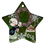 thank you mail 2010 ornament  124 - Ornament (Star)