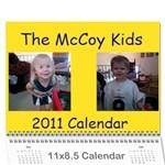 Wall Calendar 11  x 8.5  (12-Months)