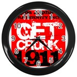 kappa -photo-5 www.psixi.ws Wall Clock (Black)