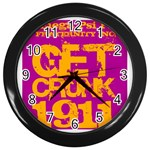 omega -photo-7 www.psixi.ws Wall Clock (Black)